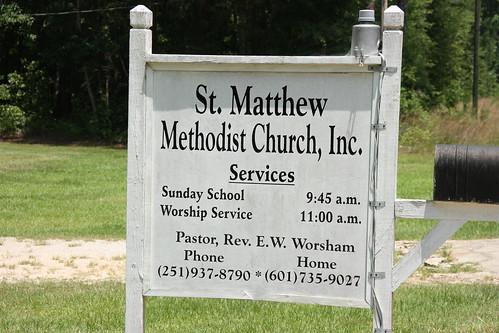 St. Matthew Methodist Church, Inc. / P2013-0622D359