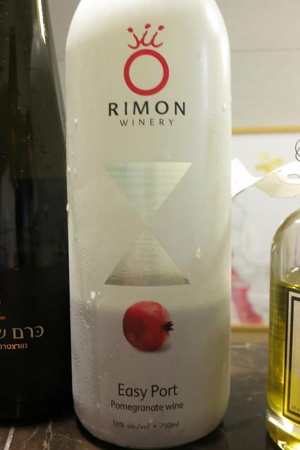 Rimon winery Easy Port Pomegranate wine