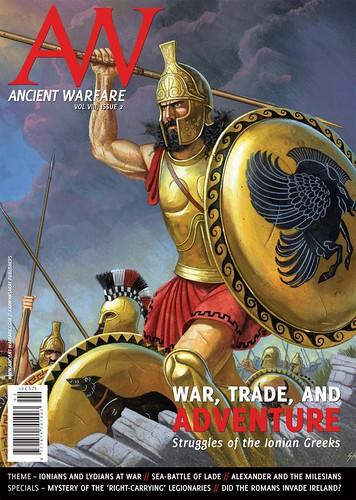 """Δημοσίευση μελέτης στο Περιοδικό """"ANCIENT WARFARE MAGAZINE"""" , Μάϊος 2014"""