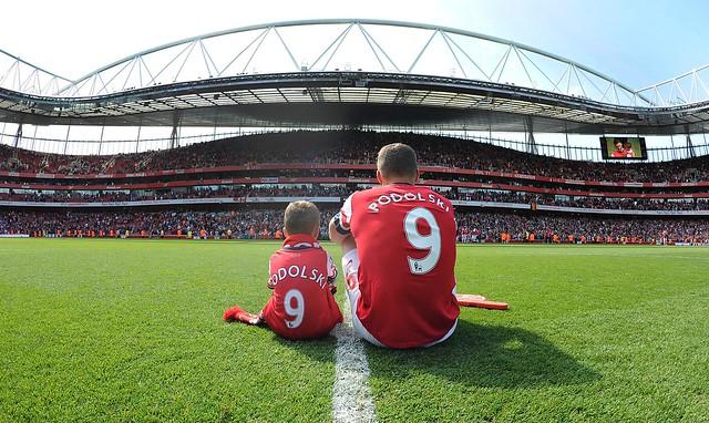 Stuart MacFarlane - Lukas Podolski and son