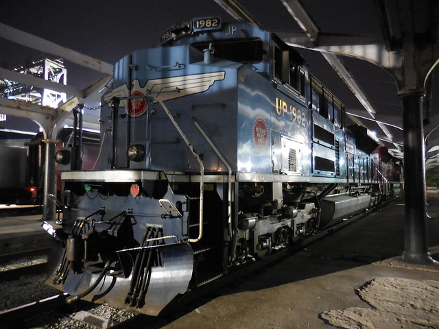 Union Pacific Locomotive 1982 - MoPac Heritage Unit at St. Louis Union Station_DSCN0138