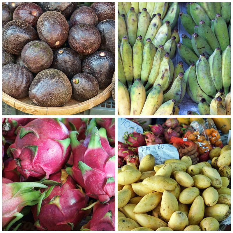 Thai Grown Fruit, Somphet Market, Chiang Mai, Thailand