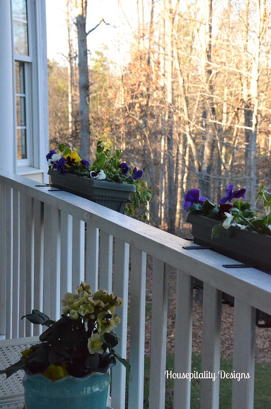 Upper Back Porch for Winter-Housepitality Designs