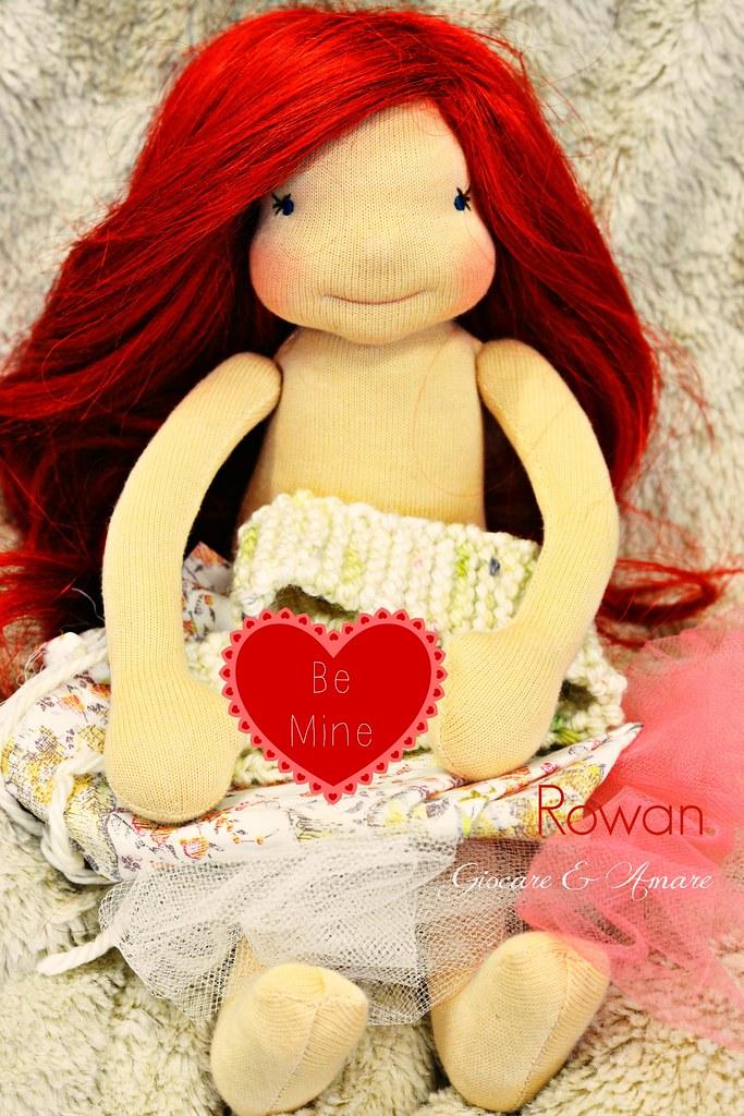Rowan - Bellarina cloth doll