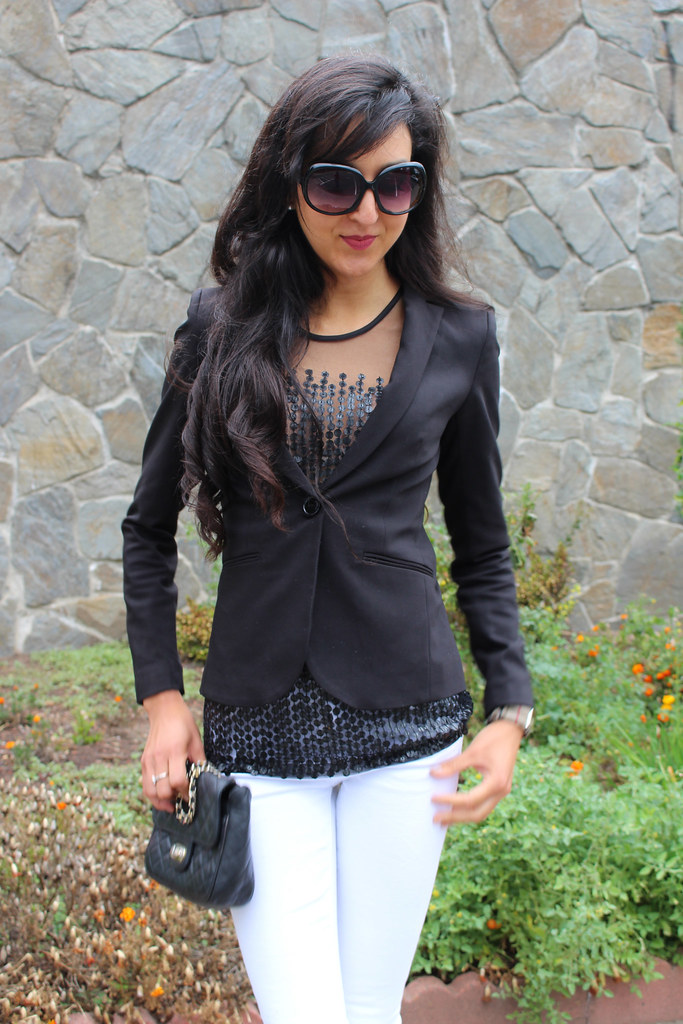 Black, white, Sequins (Wear to Work) 4
