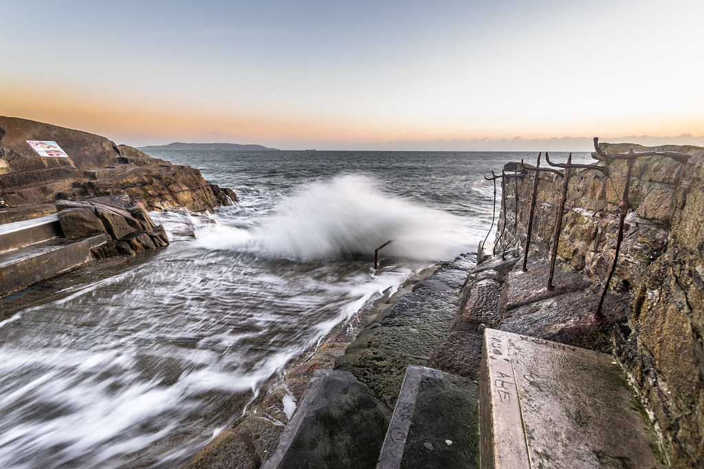 Sunrise in Sandycove, Dublin, Ireland picture