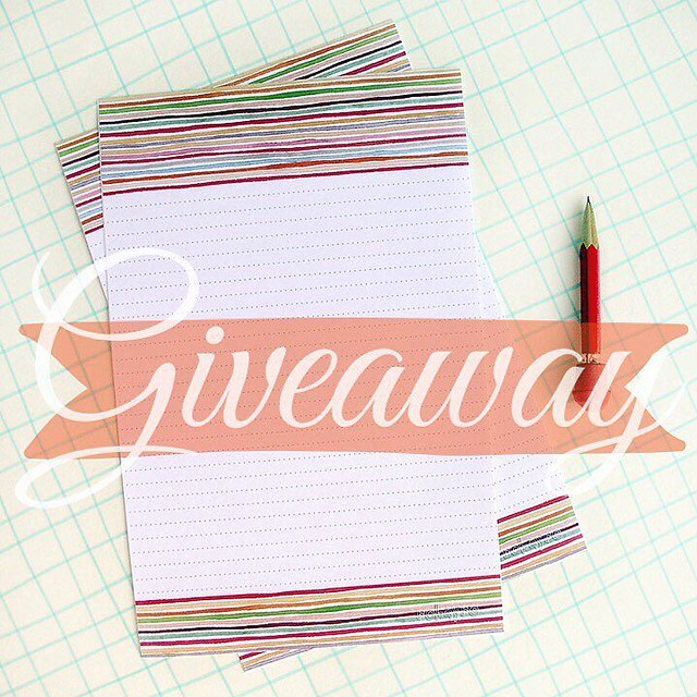 As I promised, the party has not ended. I'm still celebrating my 10 year #etsyversary and it's time for another giveaway, only this time everyone wins! I'm offering a free printable stationery over on my blog today (link in my profile). Get it now while i