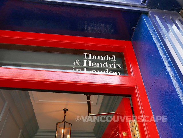 London/Handel & Hendrix exhibit