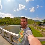 Nik in Arashiyama
