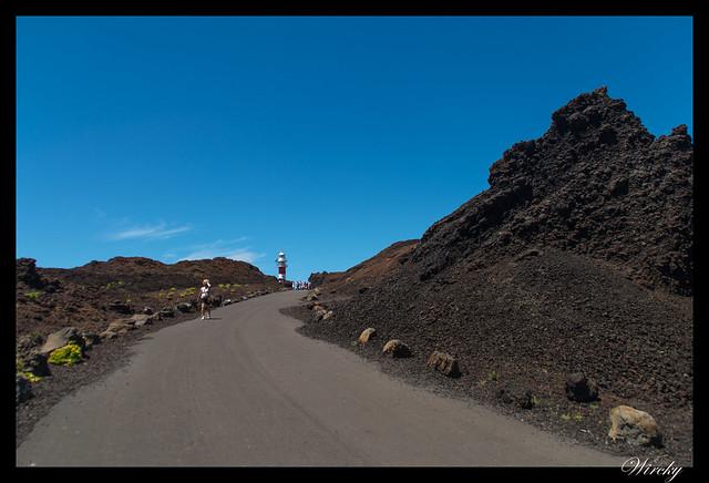 Punta de Teno lugar más occidental Tenerife - Camino hacia el faro de Punta de Teno