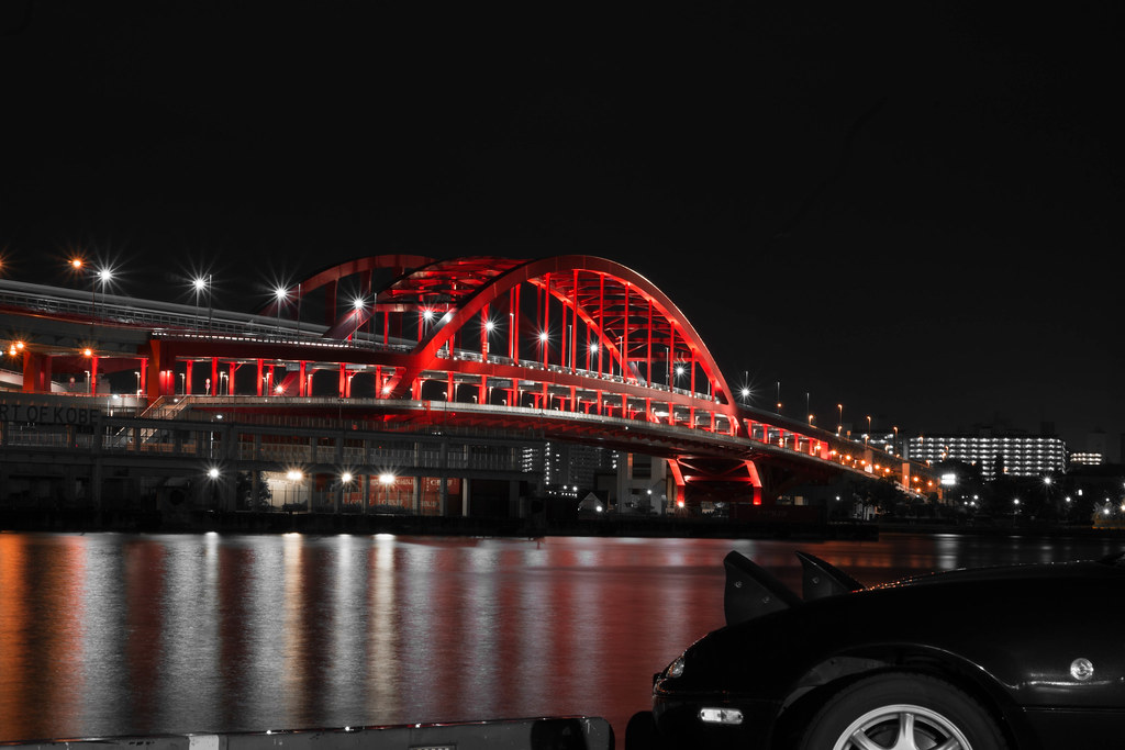 神戸大橋 Kobe Ohashi Bridge | Kobe-city, Hyogo-Pref. JP.