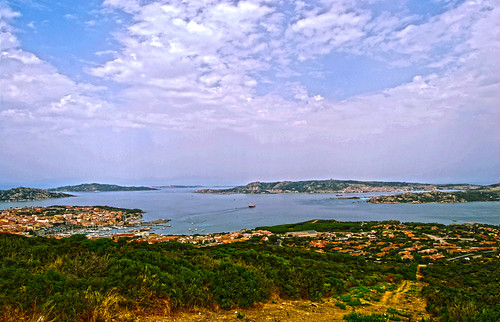 Palau and its port on the archipelago of La Maddalena - Sardinia - Italy!