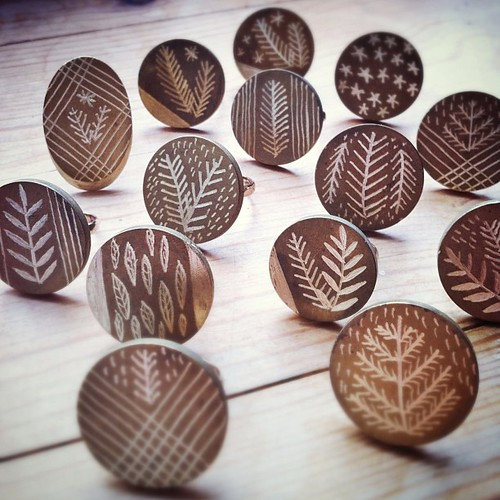 Etched Ring Samples...