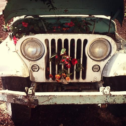 Jeep Planter