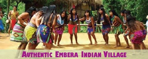 Authentic Embera Indian Village