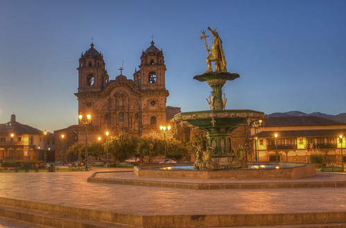 america sunrise raw cusco iglesia ciudad perú andes nocturna hdr cameraraw 3xp photomatix hdrtonemapped