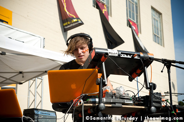 Robert Delong @ Make Music Pasadena, Pasadena 6/1/2013