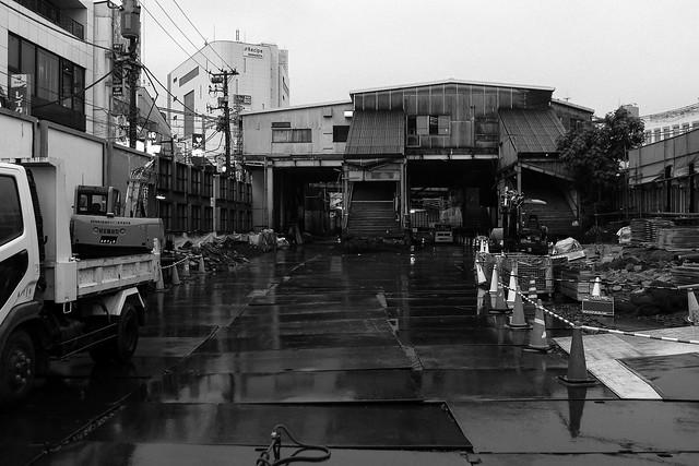 Tokyo Railroad Demolishon