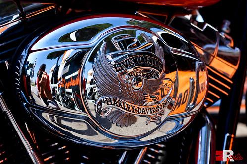 Harley Davidson Mirror-effect