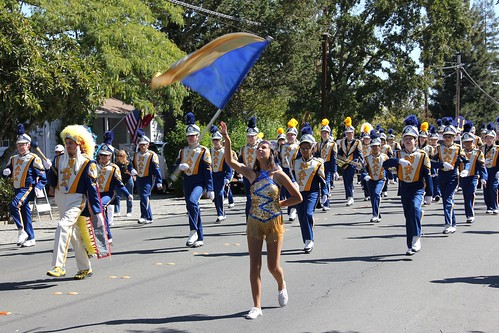 Parade in Yountville