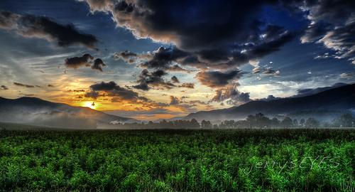 sunrise landscape fineart cadescove smokymountainsnationalpark
