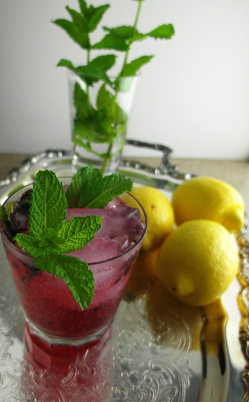 Sparkling Berry Mint Lemonade: Your Ticket to the Front Porch - Jenni ...