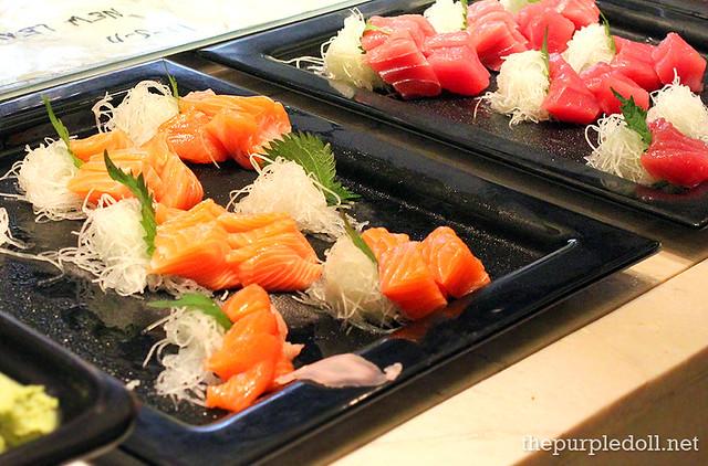 Sashimi at Spiral Sofitel Manila