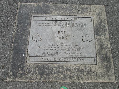 Poe Park, Bronx, NYC. Nueva York