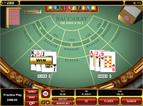 Lucky Nugget casino baccarat