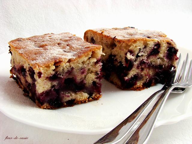 черничный пирог с коричневым сахаром 1
