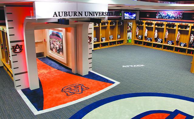 Auburn university locker room graphics flickr photo for Room wraps