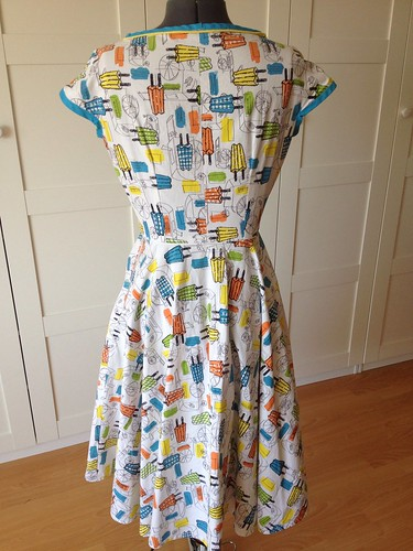 popsicle dress back