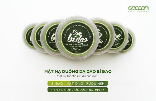 Mat na duong da Cao bi dao Cocoon trang da sach mun xoa tham phai