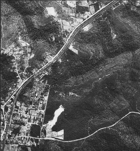 sydney aerialphoto 1953 mtcolah mountcolah