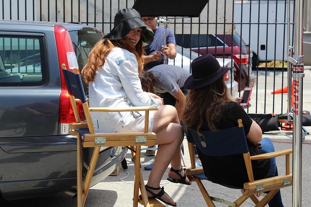 Adidas Neo Anna Roth Milner fall campaign shoot Los Angeles lisforlois