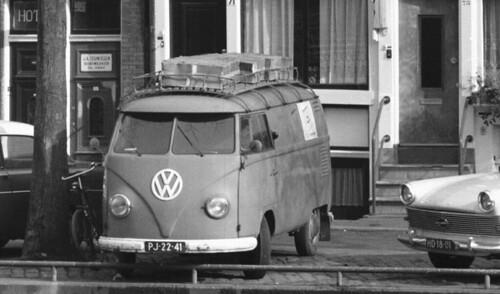 PJ-22-41 Volkswagen Transporter bestelwagen 1956