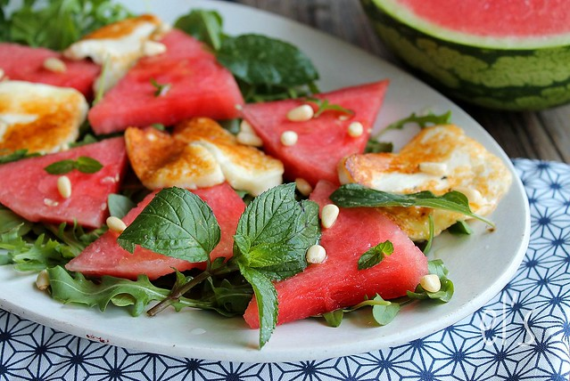 Salade de pastèque