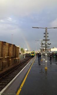 Rainbow on platform 9