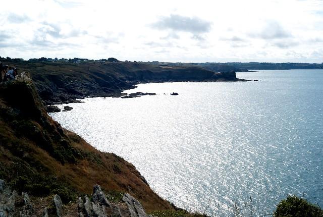 すばらしい岬の眺め。