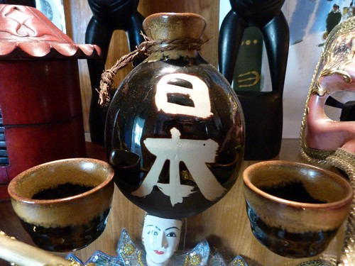 Juego de sake japonés