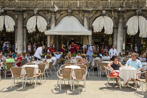 Caffe Florian in Venice, Italy