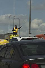 Traffic police.