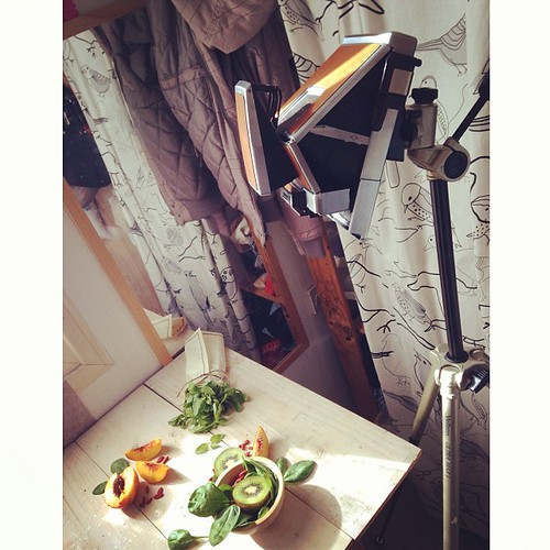 Food photography with 1970s Polaroid SX-70 #neoretrogizmo