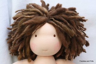 "Custom Freckles and Frills 15"" Doll"
