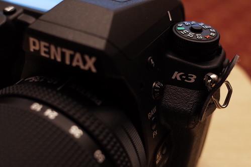 PENTAX K-3 LOGO