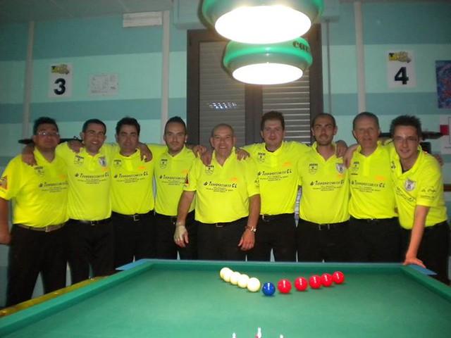 Real Conca d'oro Campione provinciale a squadre SERIE A 2012-13
