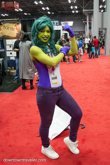 NY Comic Con Womens Costume She Hulk