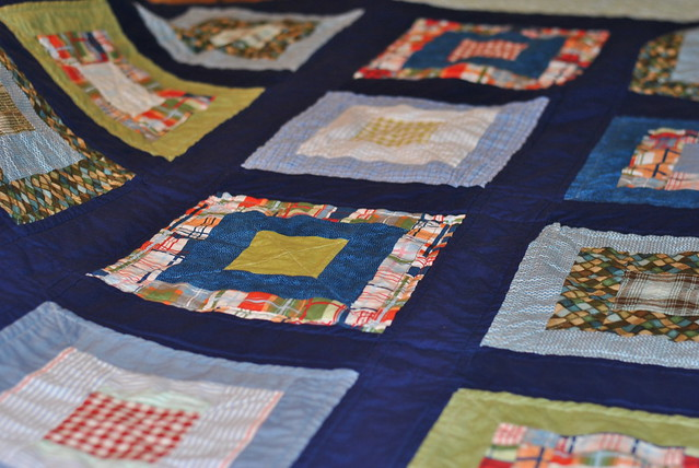 Framed Shirts Quilt