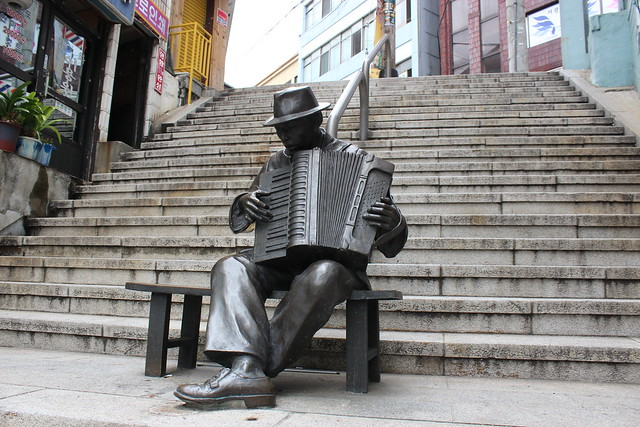 韓國釜山40階梯文化街