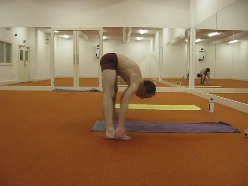 Standing Separate Leg Stretching PoseDandayamana – Bibhaktapada – Paschimottanasana